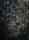 与生锈的污点的抽象金属背景 免版税库存照片