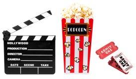与电影相关的项目 免版税库存图片