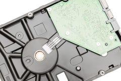 与电路板的硬盘驱动器硬盘驱动器 免版税库存照片