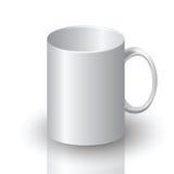 白色杯子 库存例证
