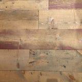 与白色油漆的脏的困厄的木地板纹理 免版税库存图片