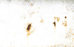 与白色空间的老土气金属背景 库存照片
