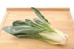 与白色茎的意大利唐莴苣 库存照片