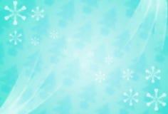 与白色雪花的明亮的数字式背景 免版税库存照片