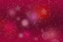 与白色雪花的明亮的marsala背景 图库摄影