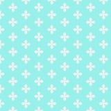与白花的抽象样式 免版税库存照片