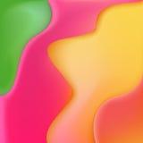 与的抽象背景被变形的几何形状 免版税库存照片