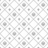 与皇家百合的无缝的样式 免版税库存图片