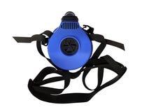 与皮带的蓝色人工呼吸机 库存图片