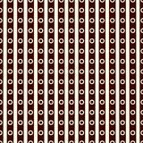 与相称装饰品的无缝的表面样式 重复的对角线和圈子纹理 几何的背景 库存例证