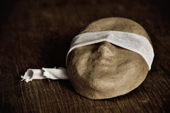 与眼罩的面具 免版税库存照片
