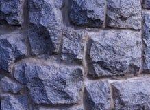 与石头的墙壁 免版税库存照片