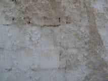 与石灰盆射的砖墙 免版税库存图片