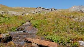 与石头房子4k的高山风景 影视素材
