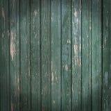 与破旧的绿色油漆的木镶边背景 库存照片