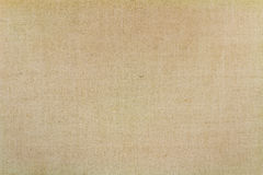 与磨损的老米黄纺织品纹理 抽象背景 免版税库存照片