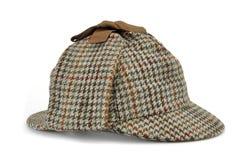 与福尔摩斯帽子的调查概念著名作为鹿 图库摄影