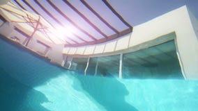 与私有游泳池的豪华别墅