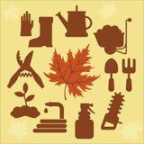 与秋天leaves_2的秋天农业象 图库摄影