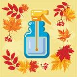 与秋天leaves_10的秋天农业象 库存图片