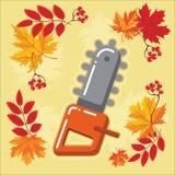 与秋天leaves_9的秋天农业象 库存图片