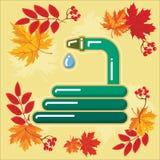 与秋天leaves_8的秋天农业象 免版税图库摄影