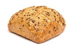 与种子的健康面包 库存照片