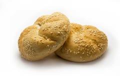 与种子的小圆面包 免版税库存图片