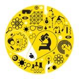 与科学标志的构成 库存照片 & 图像
