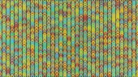与移动和忽悠微粒的抽象背景 无缝的圈的动画 是明亮的色的动画 皇族释放例证
