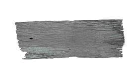 与空白的木方向标 库存照片