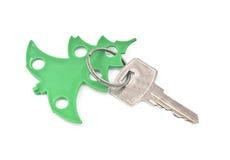 与空白的标记的钥匙 免版税图库摄影