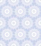 与空白雪花的无缝的纹理 免版税图库摄影