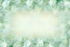 与空间的美好的设计背景在文本,摘要,绿色和白色颜色中心 免版税库存图片
