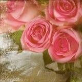与空间的RRomantic玫瑰文本的。 库存照片