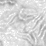 与空间的地形图背景拷贝的 排行地势地图等高背景,地理栅格摘要 库存例证
