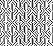 与立方体的样式 免版税库存照片