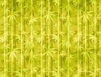 与竹子的纸纹理 库存照片