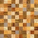 与竹样式的无缝的背景 库存照片