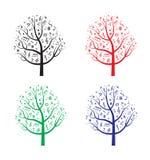 与笔记的树 库存图片