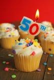 第50个生日 免版税库存照片
