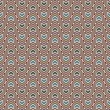 与箭头主题的无缝的样式 重复的微型角括号 V形臂章墙纸 抽象背景最低纲领派 库存照片