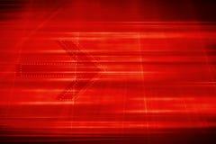 与箭头概念系列的图解红色题材背景 免版税图库摄影