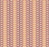 与米黄花饰的无缝的纹理 免版税库存照片
