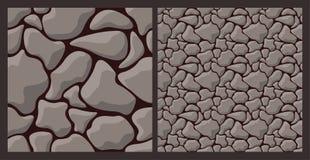 与粗砺的石头的纹理 库存图片