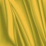 与精美纹理的抽象背景在黄色和棕色颜色 离开作用,以被弄皱的tissu的形式透明硬沙纹理 库存图片
