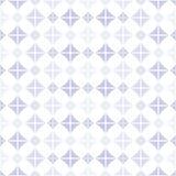 与紫罗兰色形状的无缝的样式 库存例证