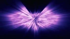 与紫色条纹Iooping的抽象背景 向量例证