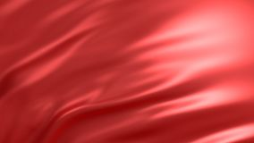 与红色丝绸的背景 图象例证 3d翻译 库存图片