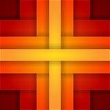 与红色和橙色层数的抽象背景 免版税图库摄影